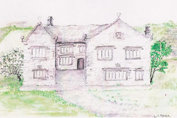 An artist's impression of the old building at Cobhouse