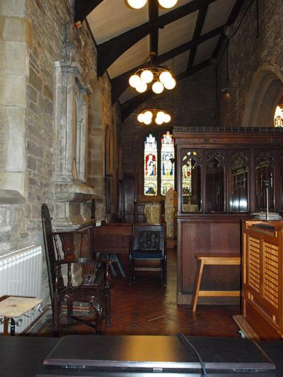 The Kaye chapel in All Hallows