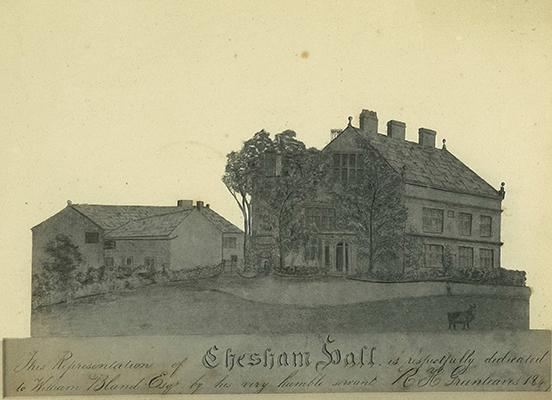 Chesham from a print made in 1841