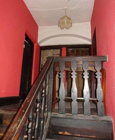 The staircase in Chesham from the first to the second floors