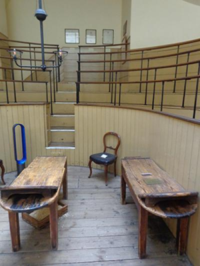 The old operating theatre at St Thomas'