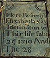Elizabeth Kay's gravestone