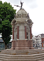 The John Kay Memorial in Bury