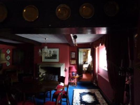 The interior of Baldingstone House