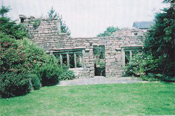 The ruins of Cobhouse Nabb