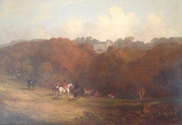 Denby Grange in 1843