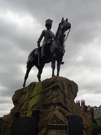 Scots Dragoon Guards memorial