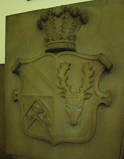 The arms of Kaye and Fyncheden, quartered with those of Legge, Earl of Dartmouth