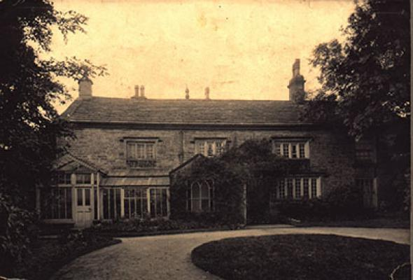 Baldingstone House in about 1900