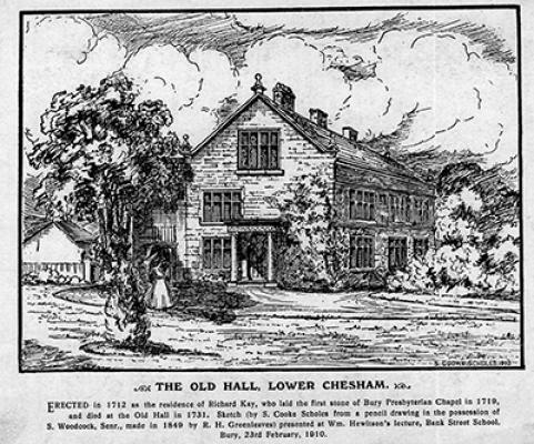 Chesham from a print made in 1849