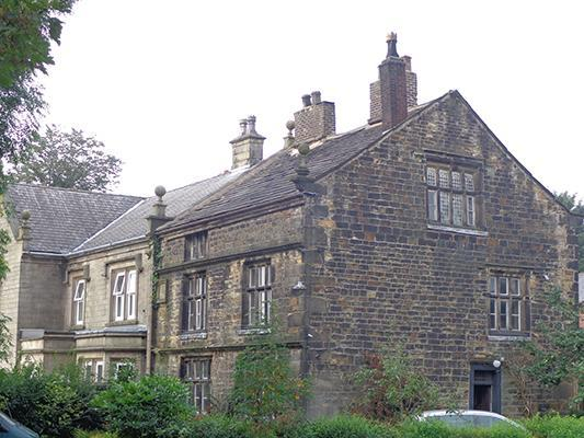 Chesham showing the Victorian replacement of the western part of the house
