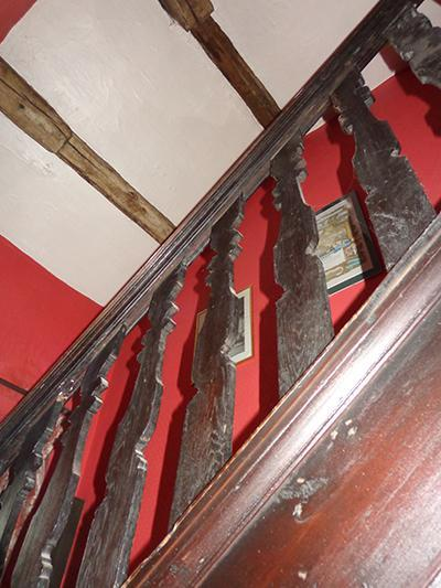 The top of the stairwell in Chesham