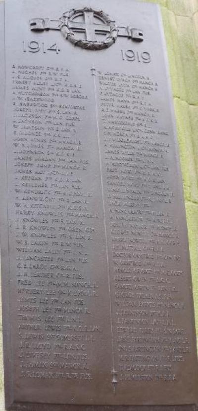 Atherton War Memorial